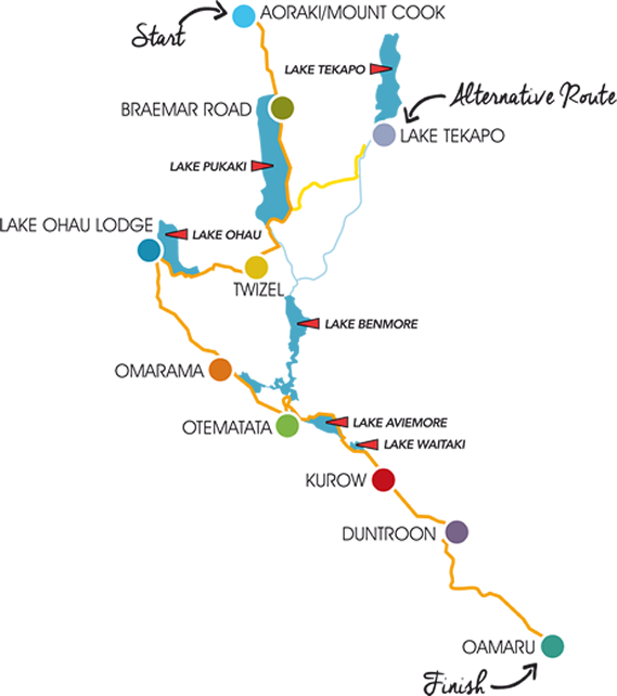 A2o Trail Map