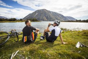 World-famous cycling trail, situated in the South Island of New Zealand